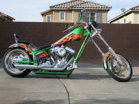 2004 American Ironhorse soft tail for sale