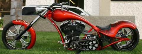 2011 Custom Built War Eagle Motorcycle ICI Low Life for sale