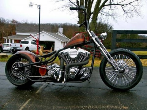 2015 Rods & Rides Custom Bobber Chopper for sale