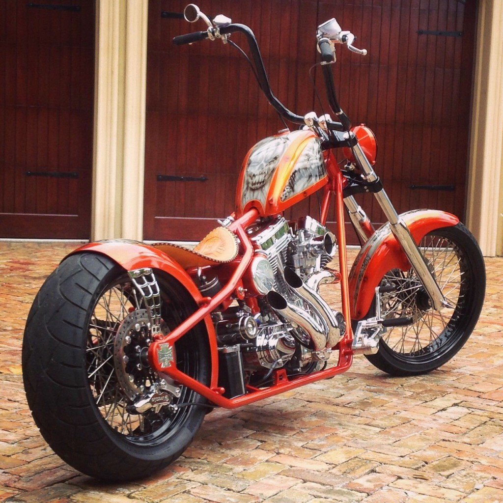 2015 custom west coast choppers cfl bach built choppers. Black Bedroom Furniture Sets. Home Design Ideas