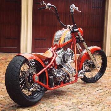 2015 Custom West Coast Choppers CFL Bach Built Choppers for sale
