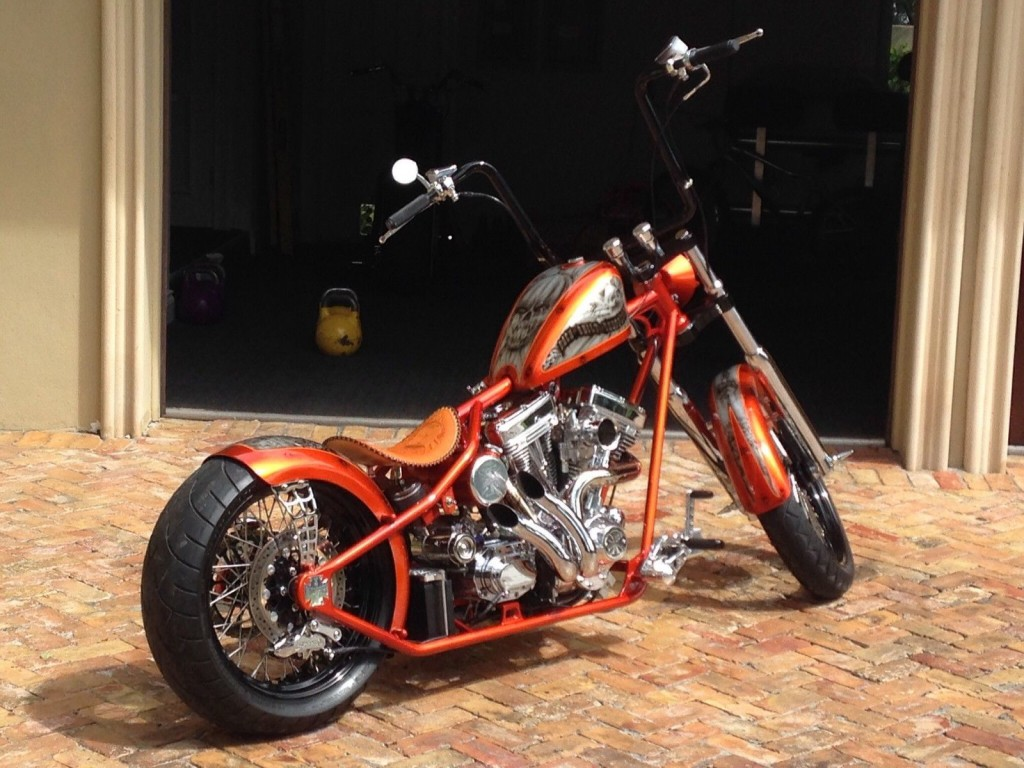 2015 Custom West Coast Choppers Cfl Bach Built Choppers
