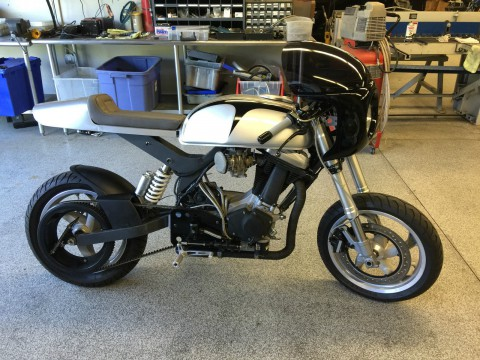 2005 Custom Built Cafe Racer Buell engine for sale