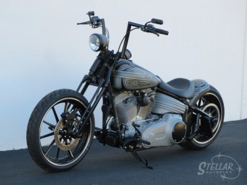 2009 Harley-davidson Softail Bobber by Stellar Cycles for sale