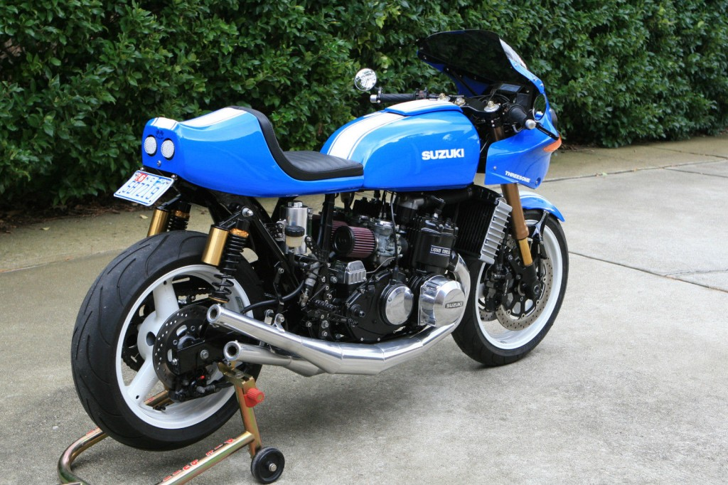 1976 custom built motorcycles suzuki gt 750 for sale. Black Bedroom Furniture Sets. Home Design Ideas