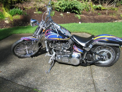 1989 Harley Old School Custom FX STS for sale
