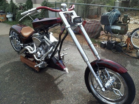 2000 Black Diamond one of a kind Show Bike motorcycle for sale