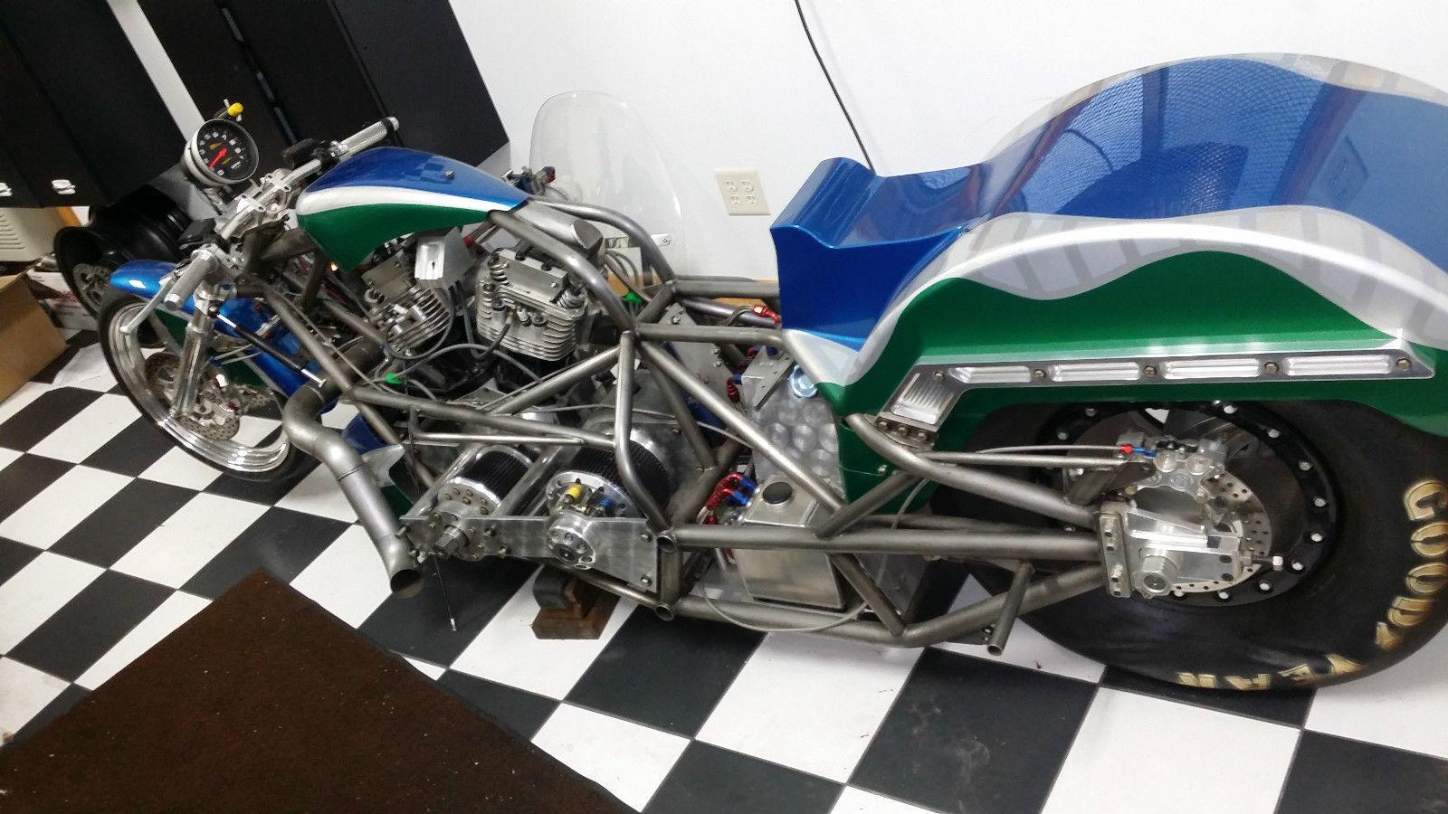 2004 Custom Built Harley Davidson Top Fuel Dragbike For Sale