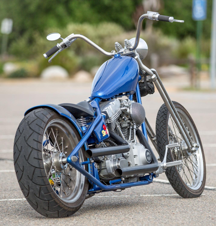 2009 Custom Built Albright Bikes Custom Harley Springer