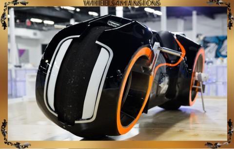 2011 Custom Electric Motorcycle Tron Movie Memorobilia for sale