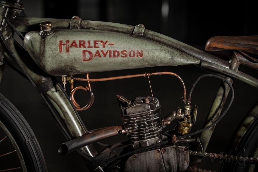 2015 Board Track Racer Harley Peashooter Antique Vinatge