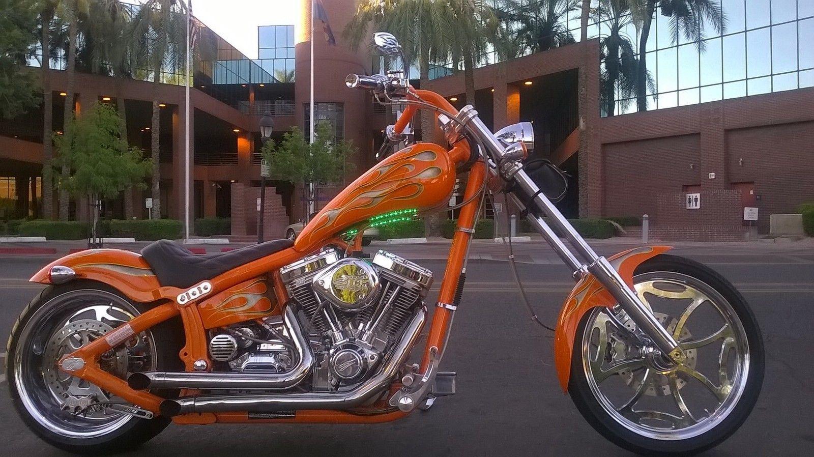 Swift 2004 Custom Bar Chopper 113 S S Sidewinder Motor 6 Speed Transmission For Sale