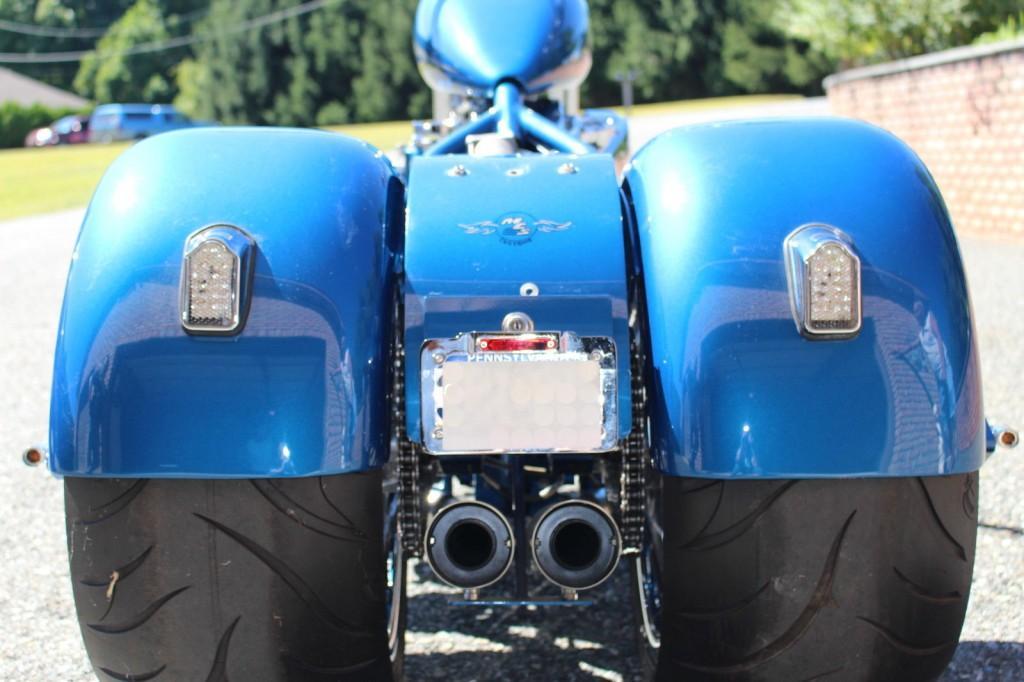 2012 CUSTOM SHOW TRIKE ULTIMA 113 DRIVE LINE RIGHT SIDE DRIVE HARLEY DAVIDSON