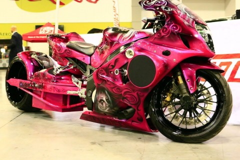 2004 Susuki GSXR 1000 Turbo 360 Fat Tire Show Bike for sale