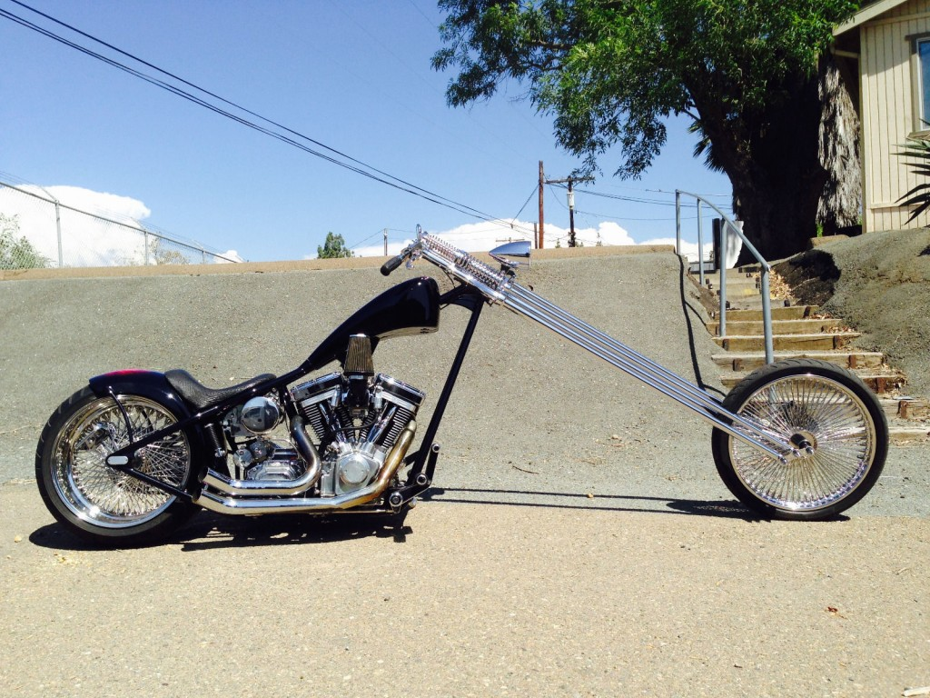 2001 Harley Custom Chopper For Sale
