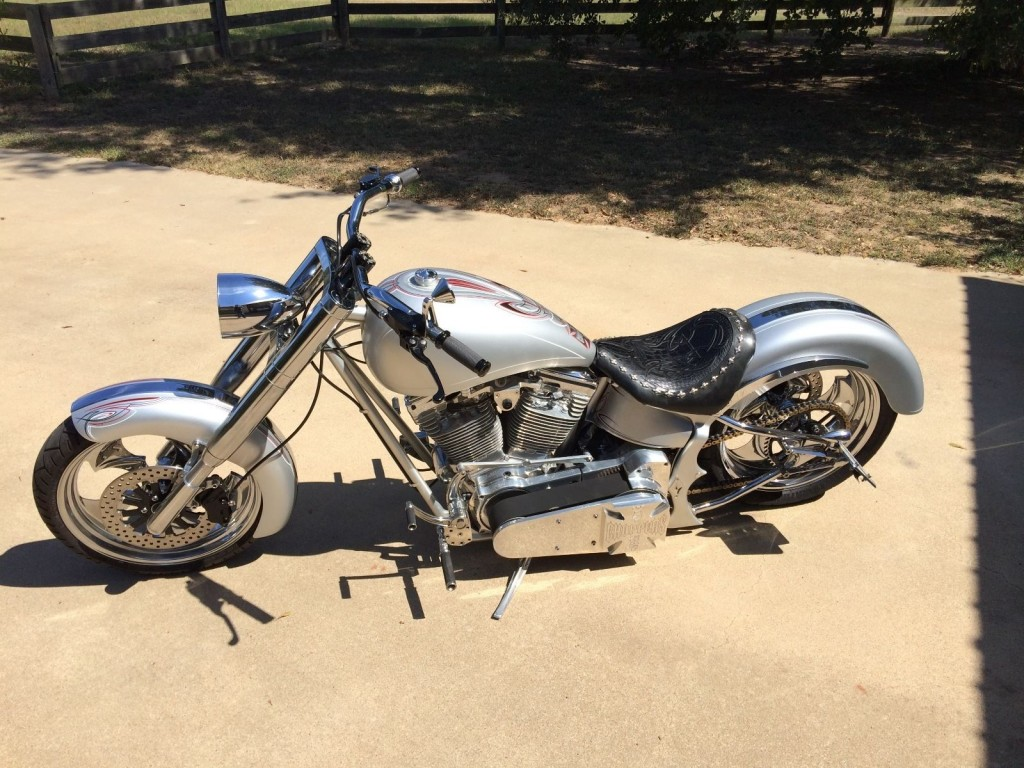 2001 West Coast Choppers Dragon Built By Jesse James For Sale