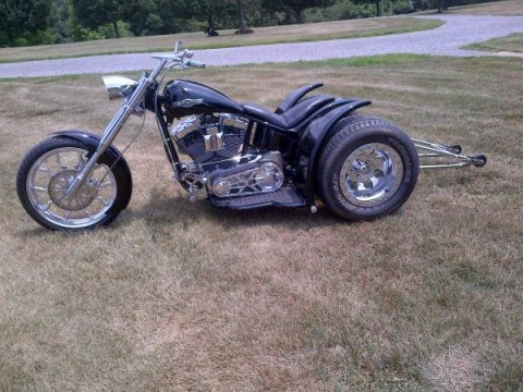 "2008 SHOW WINNING – CUSTOM BUILT TRIKE  ""BLACK WIDOW"" for sale"