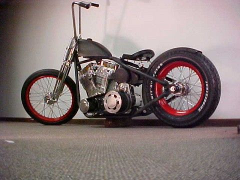 2015 Bobber Rolling Chassis American Chopper Harley Hot Rod Old School Custom Bikes for sale