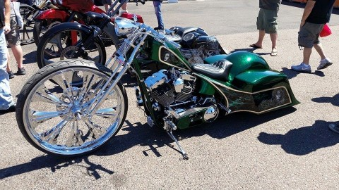 2015 Filthy McNasty Custom Chopper Bagger Conversion SOFTAIL for sale