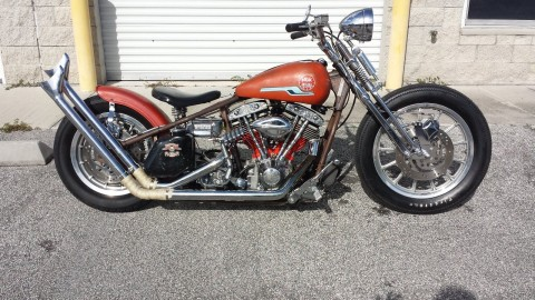 1978 Harley Davidson Shovel Head Custom Bobber for sale