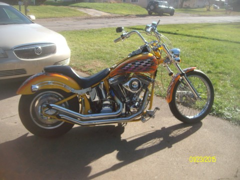 2002 Harley Red Horse 2100 for sale