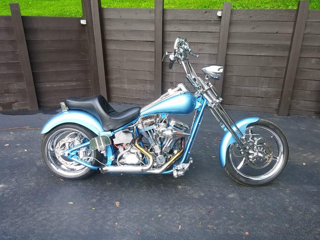 2005 Custom Built Softail Motorcycle Harley Davidson Engine 240 Rear Tire