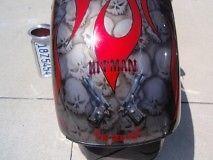 2005 Custom HELL Bound (wicked) CHOPPER
