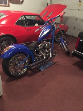 2005 Orange County Chopper OCC Custom Chopper UK Theme Bike for sale