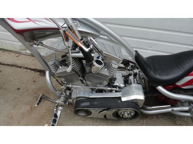2005 RE Curves Chopper Revtech Engine FAT TIRE Low Miles LED Signals Clean
