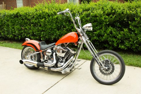 2007 Custom Softtail Chopper rear 127″ CI Ultima El Bruto 6 spd for sale