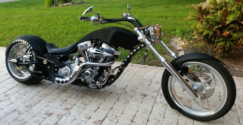 2008 Big Bear Athena Pro Street Custom Built 113 Cu.in. Ultima El Bruto Black for sale
