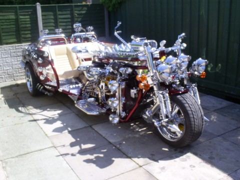 "2012 Awesome Jaguar/Trike ""The Jike"" 3 Seats for sale"