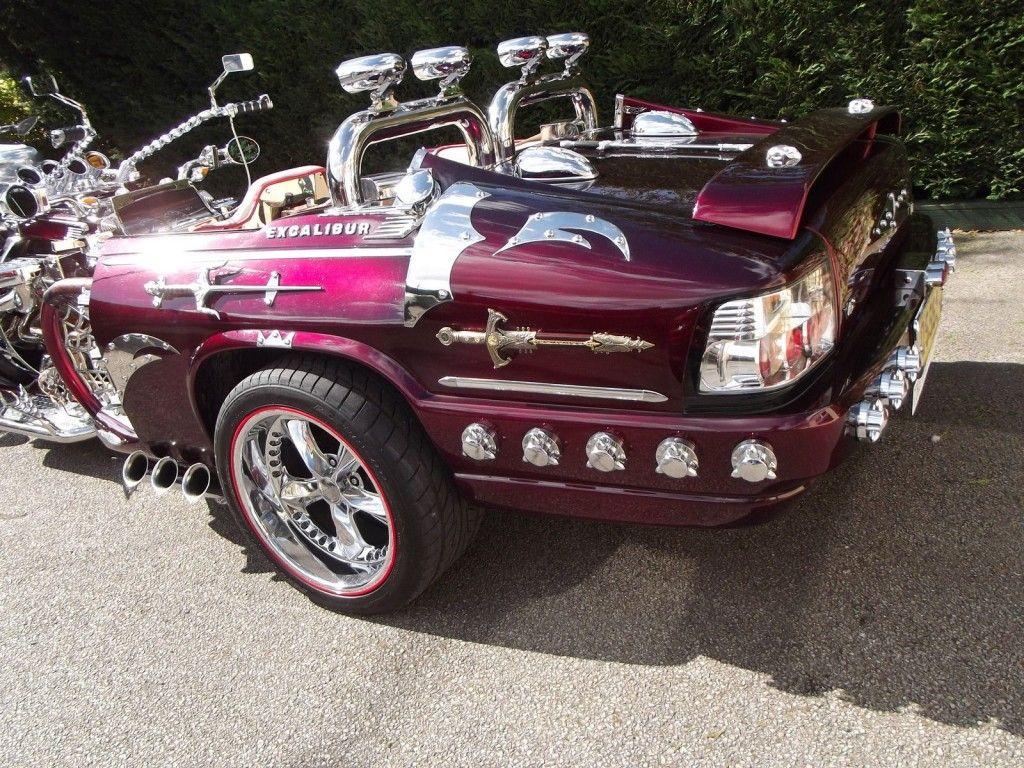 """2012 Awesome Jaguar/Trike """"The Jike"""" 3 Seats"""