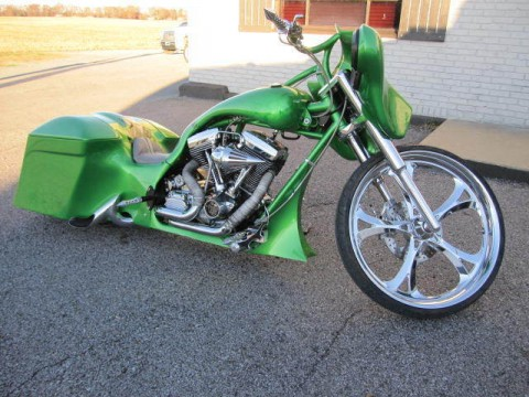 2015 Custom Motorcycle ON AIR RIDE SUSPENSION for sale