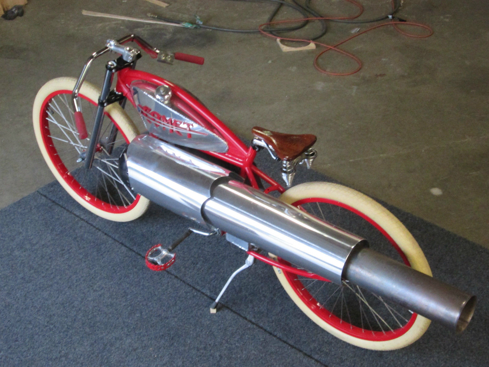 2015 Custom Pulsejet Engine Powered Board Track Racer For Sale