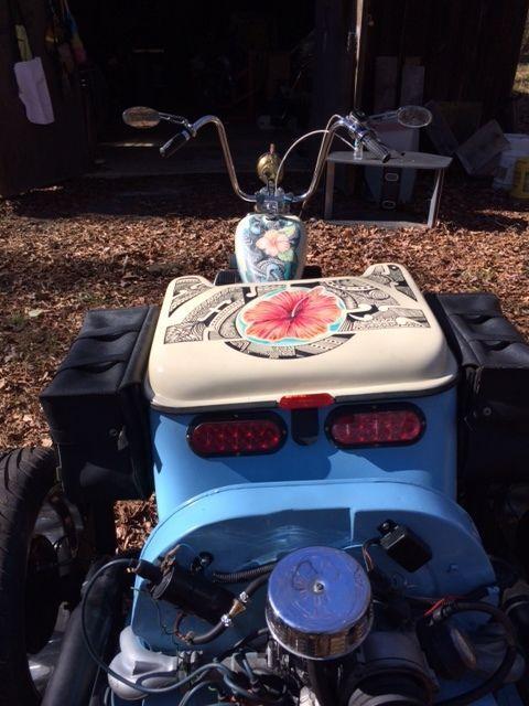 2015 Custom VW Trike Motorcycle (chopper)