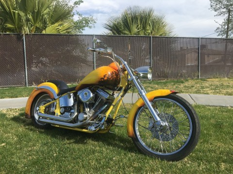 2000 Custom old School Harley Davidson S&S Engine Custom Chef Paint job One of a kind for sale