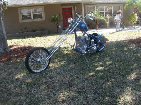 2006 Custom Built Chopper 30 over Denvers springer for sale