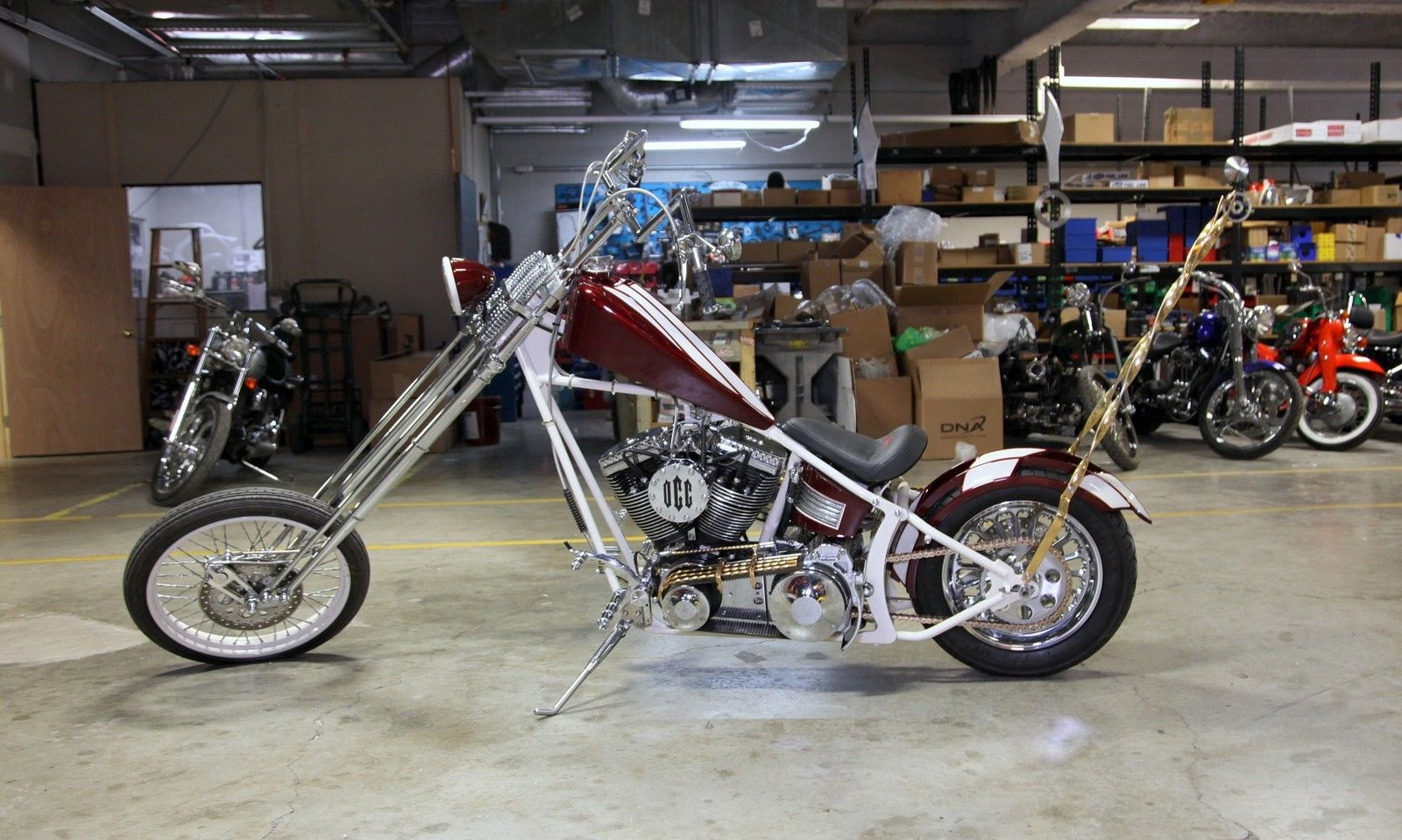 2006 Orange County Choppers Sr Series Custom Soft Tail For