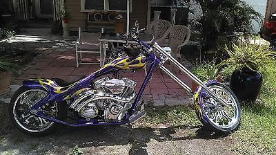 "2007 Purple Chopper ""Twister"" Chopper Nation. 124 Cubic inches. for sale"