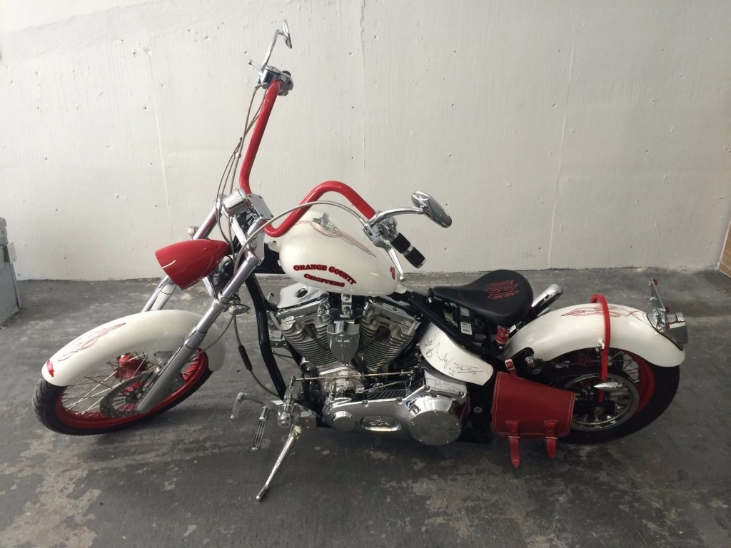 2008 Custom Built Orange County Choppers Motorcycle Bobber