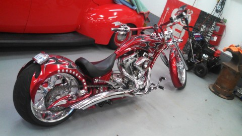 2009 Big Bear Athena Chopper for sale