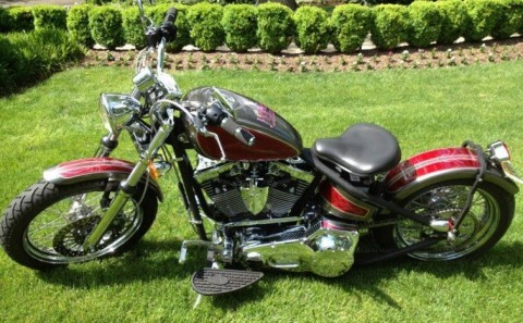 "2011 Orange County Choppers ""Angels of Hope"" Charity Bobber Custom for sale"
