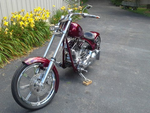 Custom Motorcycle with Fred Codlin Frame (2008) for sale