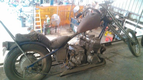 1975 Custom Built John Harman 750 Honda chopper for sale