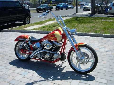2000 Titan Phoenix Custom Built Softail for sale