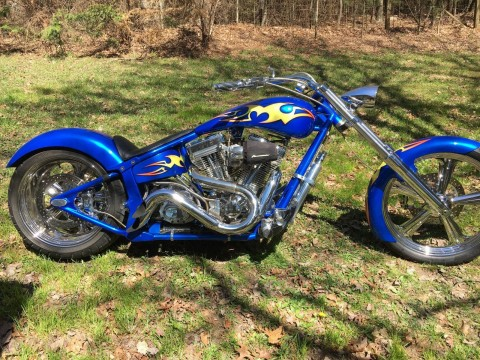 2004 Custom Chopper Motorcycle Vtwin 113ci 240 rear tire softail for sale
