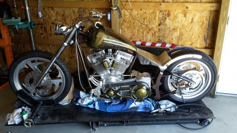 2004 Custom Softtail Motorcycle build for sale