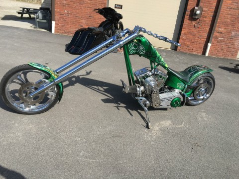 2002 Custom Supercharged Harley Chopper for sale