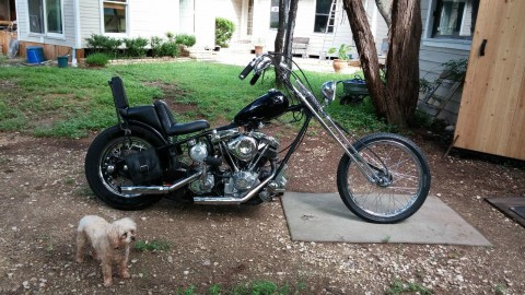 2003 Harley Custom Springer Chopper for sale